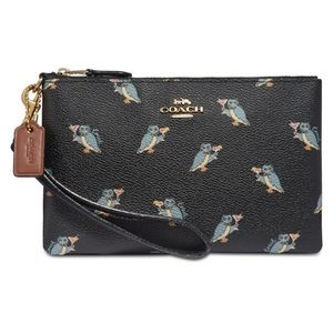 NWT Coach Limited Edition Party Owl Wristlet